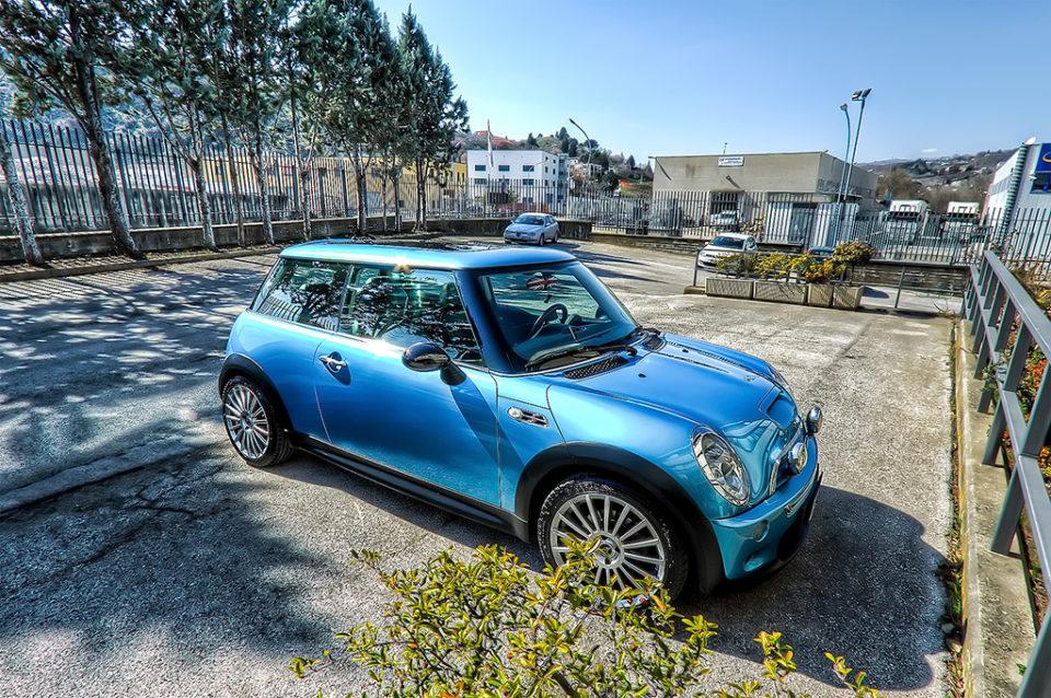 mini cooper s electric blue albano nicola foto nka.it