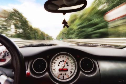 mini cooper autostrada albano nicola foto