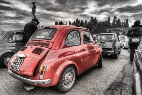 raduno 500 piazzale michelangelo firenze albano nicola foto
