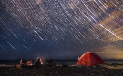 Come fotografare le stelle: lo Startrail
